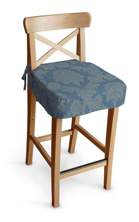 Siedzisko na krzesło barowe Ingolf krzesło barowe Ingolf w kolekcji Damasco, tkanina: 613-67