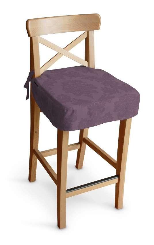 Siedzisko na krzesło barowe Ingolf krzesło barowe Ingolf w kolekcji Damasco, tkanina: 613-75
