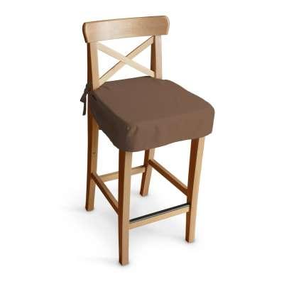 Siedzisko na krzesło barowe Ingolf 133-09 brązowy Kolekcja Loneta
