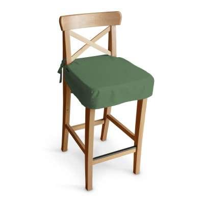 Siedzisko na krzesło barowe Ingolf 133-18 butelkowa zieleń Kolekcja Loneta