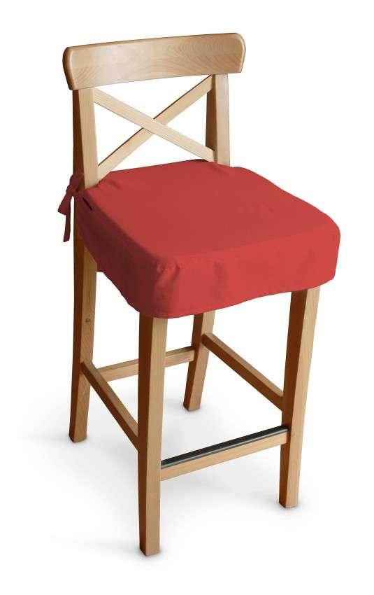 Siedzisko na krzesło barowe Ingolf w kolekcji Loneta, tkanina: 133-43