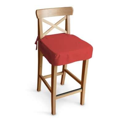 Poťah na barovú stoličku Ingolf 133-43 červená Kolekcia Loneta