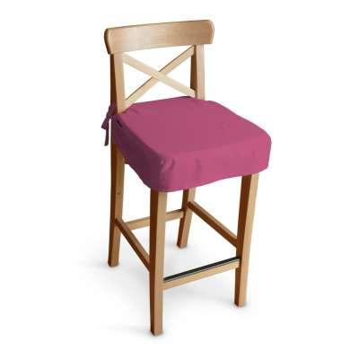 Siedzisko na krzesło barowe Ingolf 133-60 różowy Kolekcja Loneta