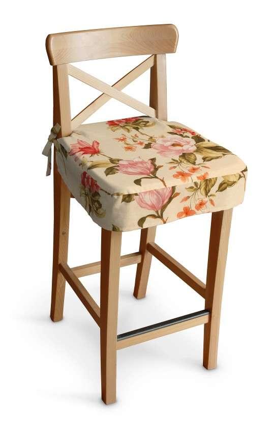 Sedák na židli IKEA Ingolf - barová  barová židle Ingolf v kolekci Londres, látka: 123-05