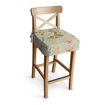 Sitzkissen für Barhocker Ingolf Barstuhl  Ingolf von der Kollektion Londres, Stoff: 123-65