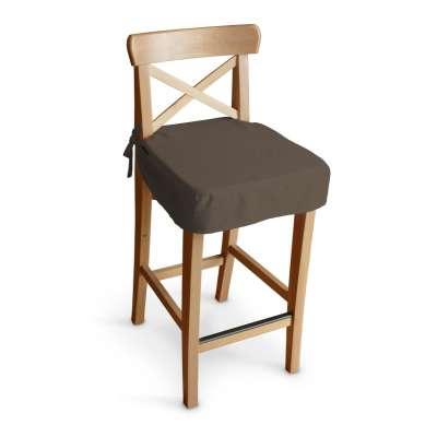 Siedzisko na krzesło barowe Ingolf 705-08 brązowy Kolekcja Etna