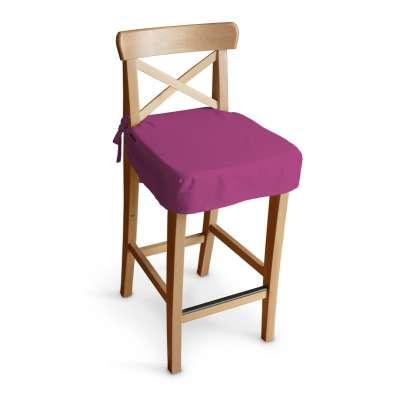 Sitzkissen für Barhocker Ingolf 705-23 amarant Kollektion Etna
