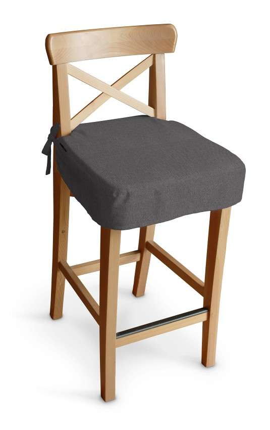 Poťah na barovú stoličku Ingolf V kolekcii Etna, tkanina: 705-35