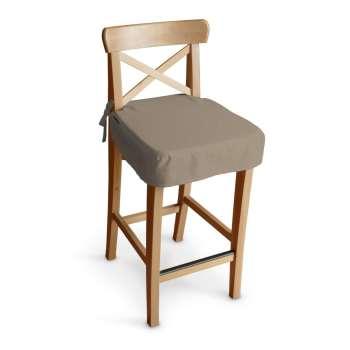 Sedák na židli IKEA Ingolf - barová  barová židle Ingolf v kolekci Cotton Panama, látka: 702-28