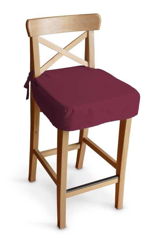 Ingolf baro kėdės užvalkalas - trumpas Ingolf baro kėdė kolekcijoje Cotton Panama, audinys: 702-32