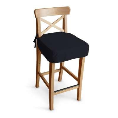 IKEA zitkussen voor barkruk Ingolf 127-99 zwart Collectie Jupiter