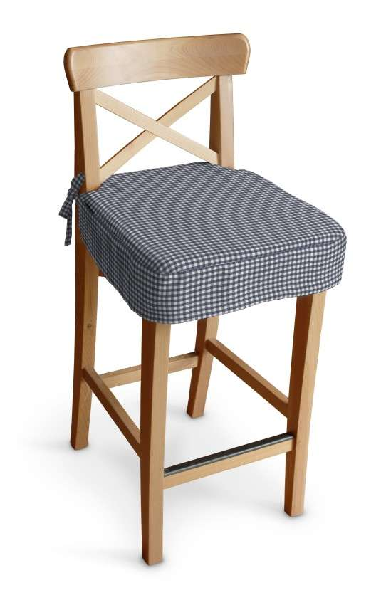 Poťah na barovú stoličku Ingolf V kolekcii Quadro, tkanina: 136-00