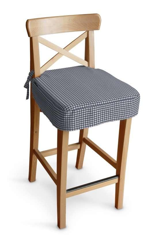 Siedzisko na krzesło barowe Ingolf krzesło barowe Ingolf w kolekcji Quadro, tkanina: 136-00