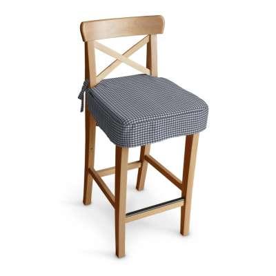 Siedzisko na krzesło barowe Ingolf w kolekcji Quadro, tkanina: 136-00