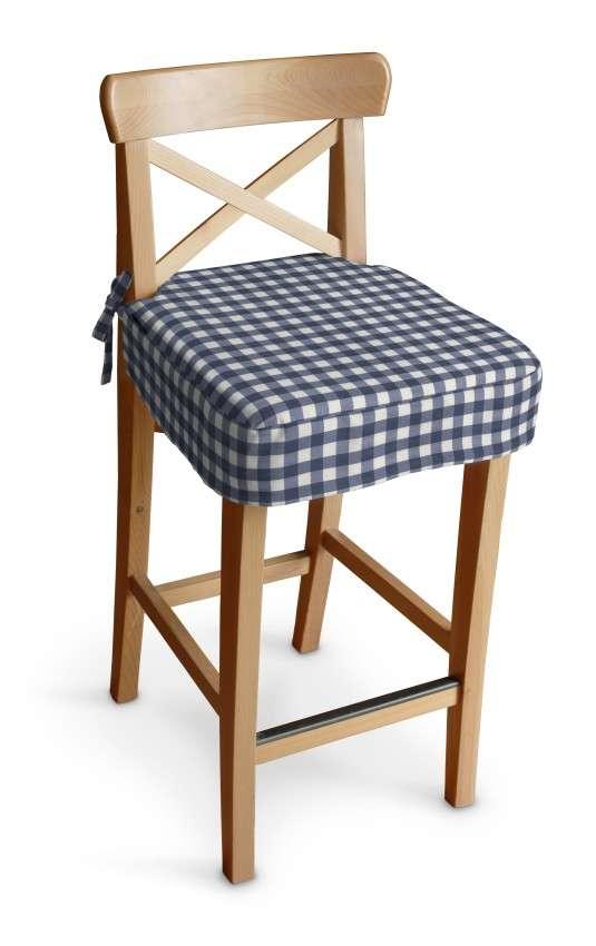 Poťah na barovú stoličku Ingolf V kolekcii Quadro, tkanina: 136-01