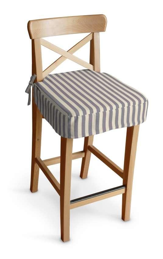 Poťah na barovú stoličku Ingolf V kolekcii Quadro, tkanina: 136-02