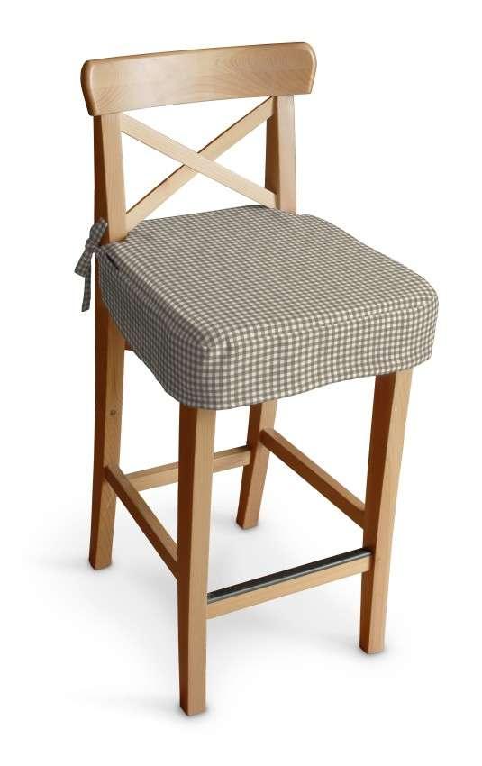 Ingolf baro kėdės užvalkalas - trumpas Ingolf baro kėdė kolekcijoje Quadro, audinys: 136-05
