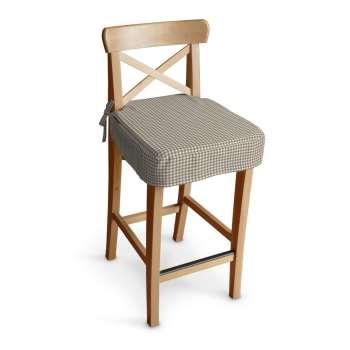 Siedzisko na krzesło barowe Ingolf w kolekcji Quadro, tkanina: 136-05
