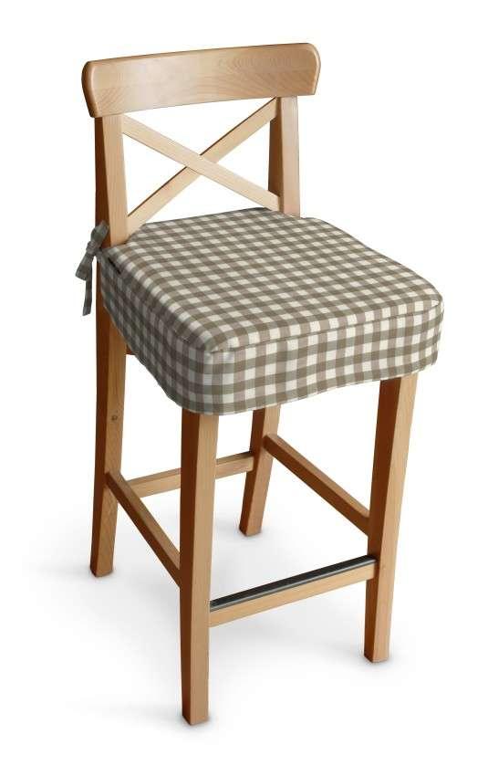Ingolf baro kėdės užvalkalas - trumpas Ingolf baro kėdė kolekcijoje Quadro, audinys: 136-06