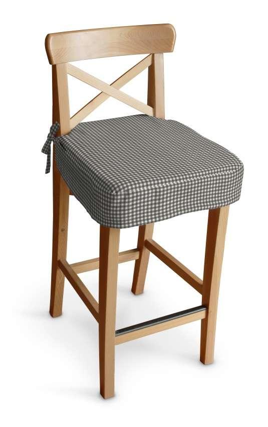Ingolf baro kėdės užvalkalas - trumpas Ingolf baro kėdė kolekcijoje Quadro, audinys: 136-10