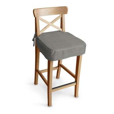 Siedzisko na krzesło barowe Ingolf w kolekcji Quadro, tkanina: 136-10