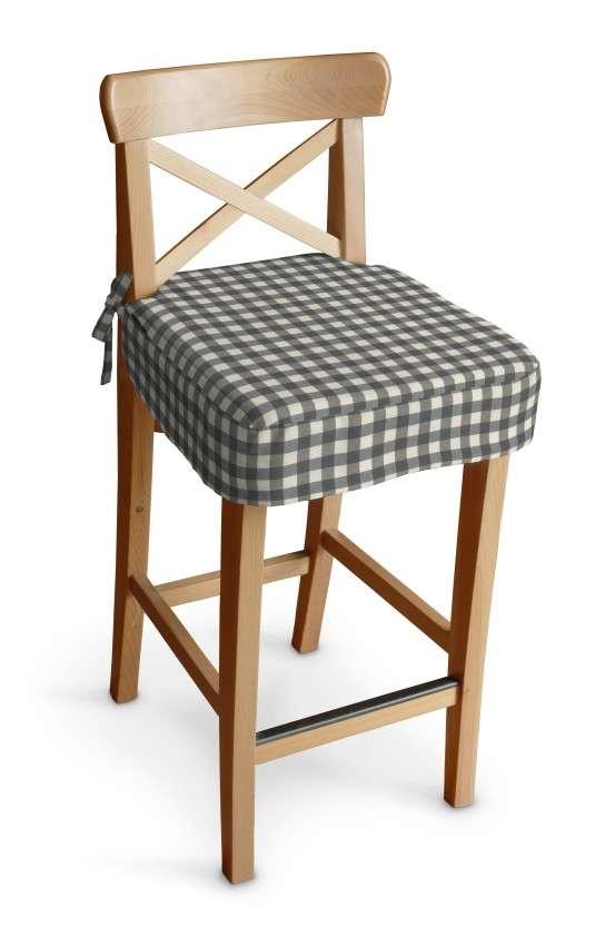 Ingolf baro kėdės užvalkalas - trumpas Ingolf baro kėdė kolekcijoje Quadro, audinys: 136-11