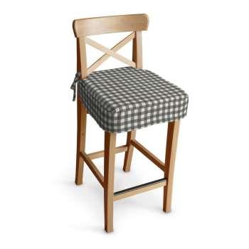 Siedzisko na krzesło barowe Ingolf w kolekcji Quadro, tkanina: 136-11