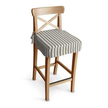 Ingolf baro kėdės užvalkalas - trumpas Ingolf baro kėdė kolekcijoje Quadro, audinys: 136-12