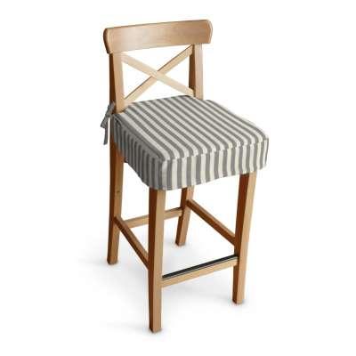 IKEA zitkussen voor barkruk Ingolf 136-12 grijs-ecru  Collectie Quadro