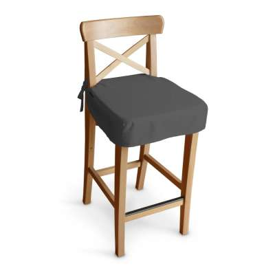 Siedzisko na krzesło barowe Ingolf w kolekcji Quadro, tkanina: 136-14
