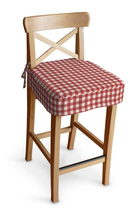 Ingolf baro kėdės užvalkalas - trumpas Ingolf baro kėdė kolekcijoje Quadro, audinys: 136-16