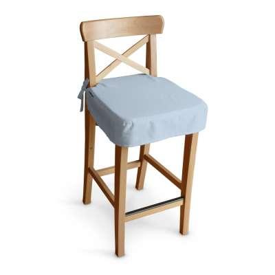 Sitzkissen für Barhocker Ingolf 133-35 hellblau Kollektion Loneta