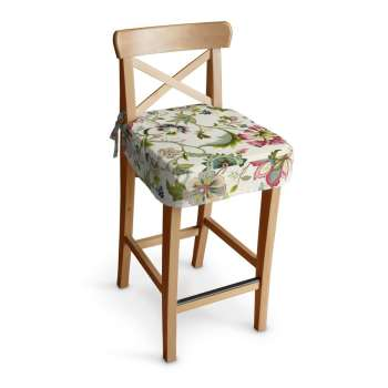 Siedzisko na krzesło barowe Ingolf krzesło barowe Ingolf w kolekcji Londres, tkanina: 122-00
