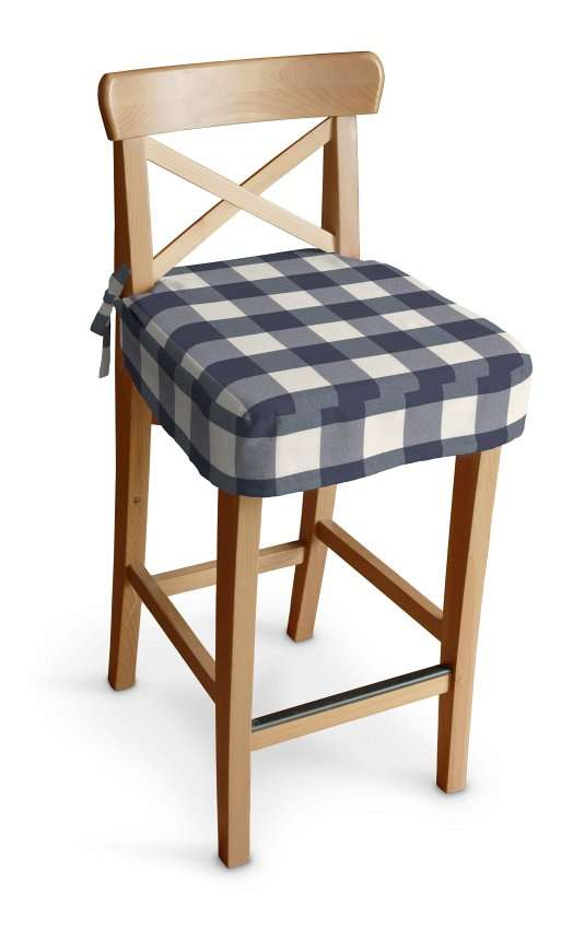 Ingolf baro kėdės užvalkalas - trumpas Ingolf baro kėdė kolekcijoje Quadro, audinys: 136-03