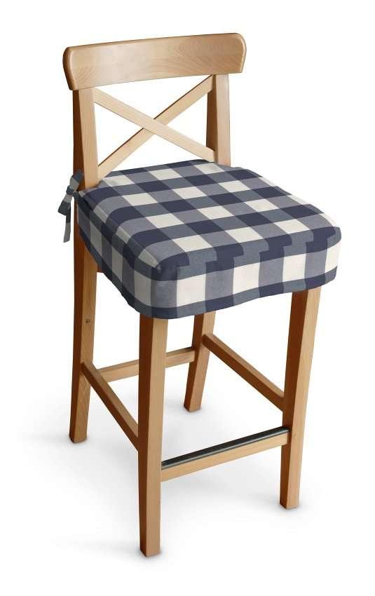 Sitzkissen für Barhocker Ingolf Barstuhl  Ingolf von der Kollektion Quadro, Stoff: 136-03