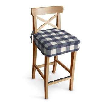 Siedzisko na krzesło barowe Ingolf krzesło barowe Ingolf w kolekcji Quadro, tkanina: 136-03