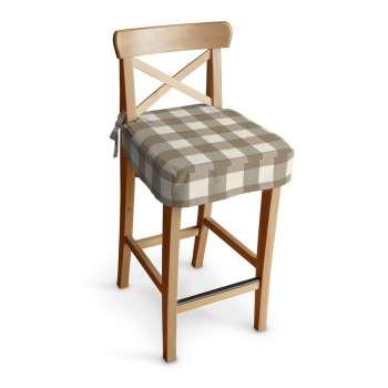 Siedzisko na krzesło barowe Ingolf w kolekcji Quadro, tkanina: 136-08