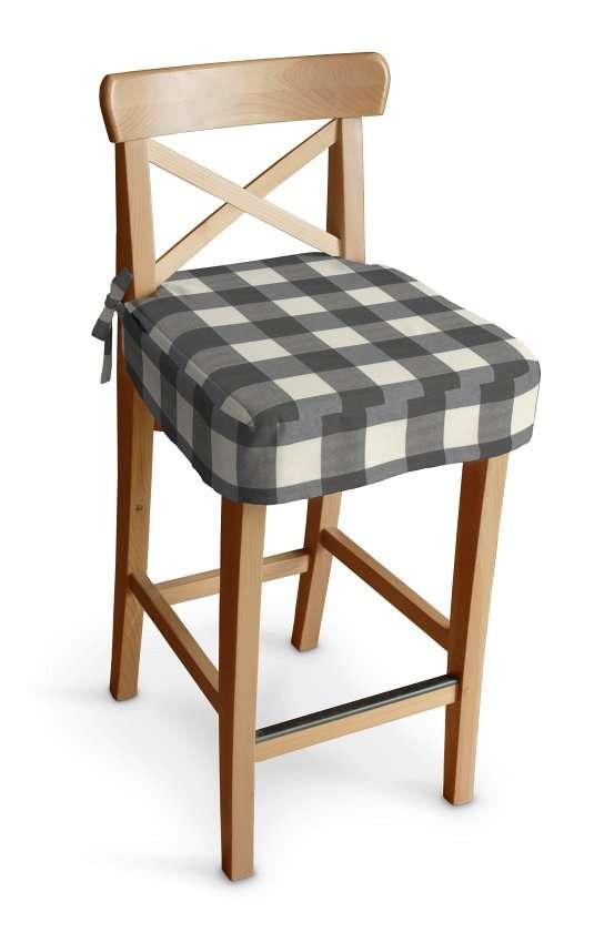 Ingolf baro kėdės užvalkalas - trumpas Ingolf baro kėdė kolekcijoje Quadro, audinys: 136-13
