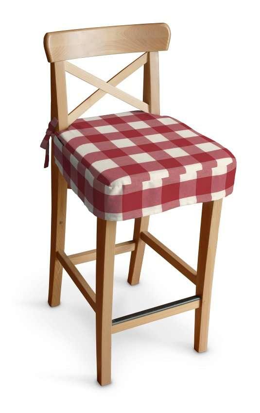 Ingolf baro kėdės užvalkalas - trumpas Ingolf baro kėdė kolekcijoje Quadro, audinys: 136-18