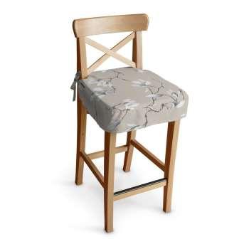 Ingolf baro kėdės užvalkalas - trumpas Ingolf baro kėdė kolekcijoje Flowers, audinys: 311-12
