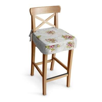 Ingolf baro kėdės užvalkalas - trumpas 311-15 Rožės šviesiame fone Kolekcija NUOLAIDOS