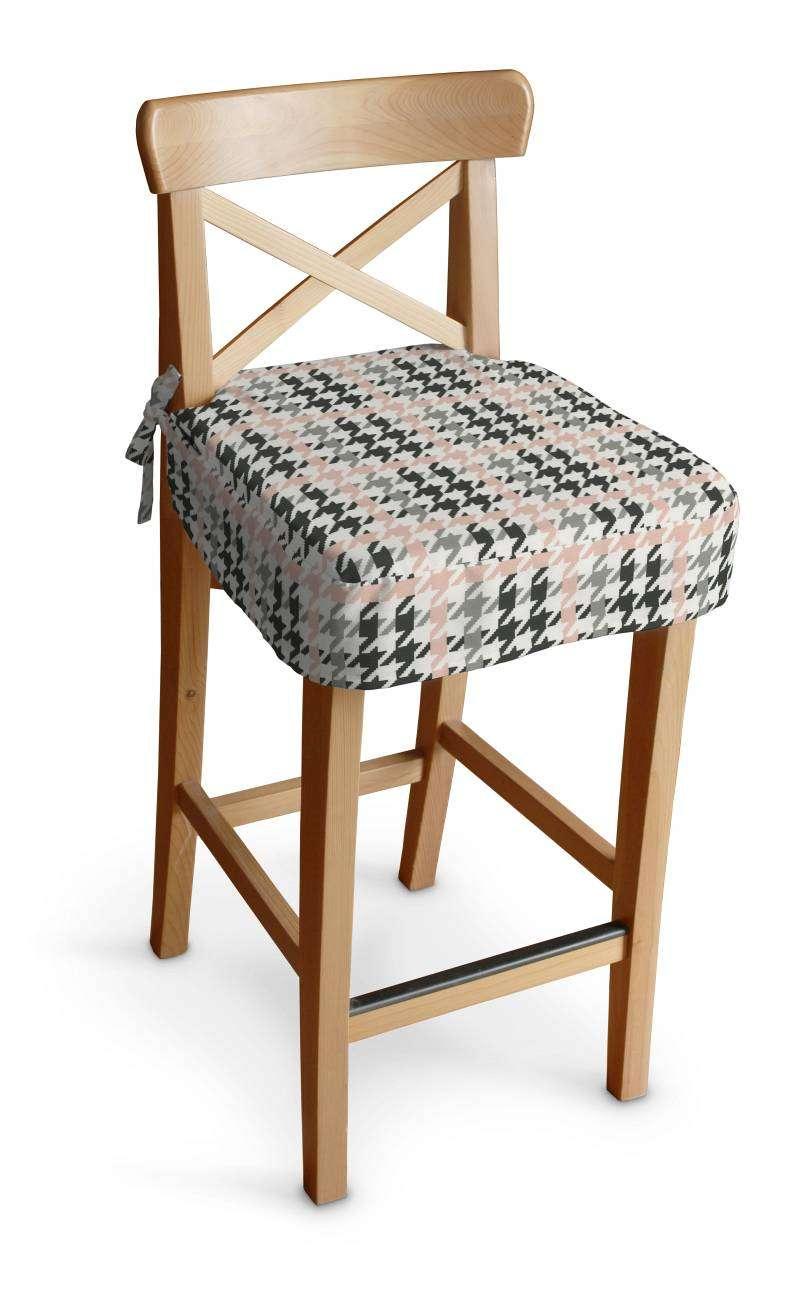 Siedzisko na krzesło barowe Ingolf krzesło barowe Ingolf w kolekcji Brooklyn, tkanina: 137-75