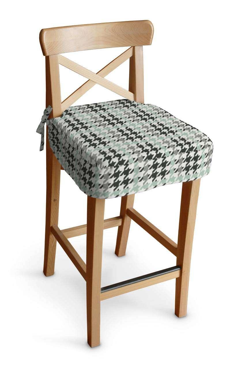 Siedzisko na krzesło barowe Ingolf krzesło barowe Ingolf w kolekcji Brooklyn, tkanina: 137-77