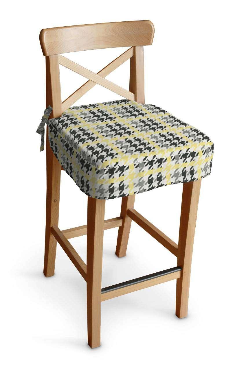 Siedzisko na krzesło barowe Ingolf krzesło barowe Ingolf w kolekcji Brooklyn, tkanina: 137-79