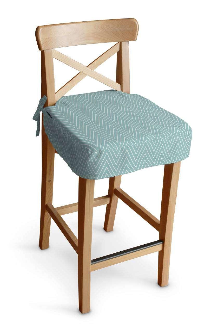 Siedzisko na krzesło barowe Ingolf krzesło barowe Ingolf w kolekcji Brooklyn, tkanina: 137-90