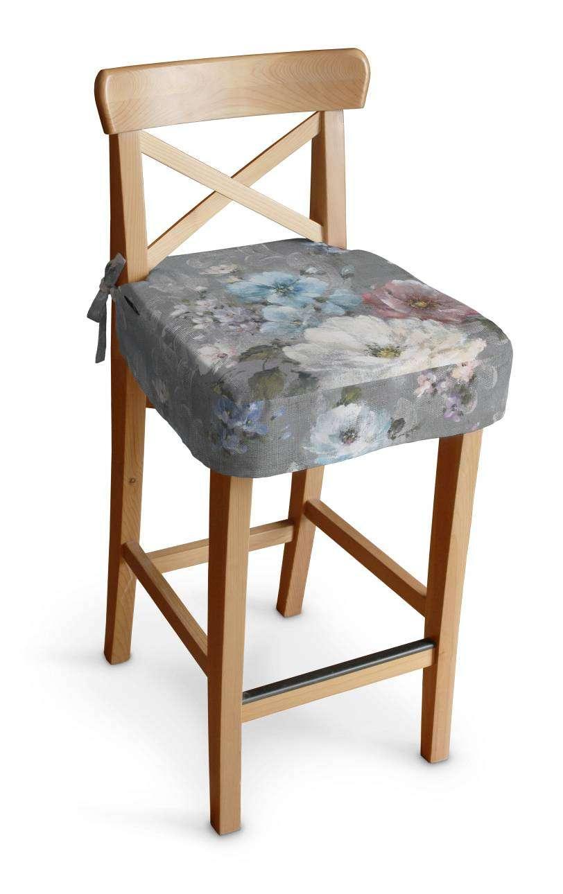 Siedzisko na krzesło barowe Ingolf krzesło barowe Ingolf w kolekcji Monet, tkanina: 137-81