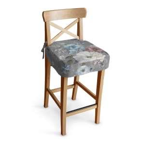 Ingolf baro kėdės užvalkalas - trumpas Ingolf baro kėdė kolekcijoje Monet, audinys: 137-81