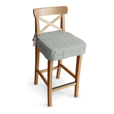 Siedzisko na krzesło barowe Ingolf w kolekcji Flowers, tkanina: 140-38