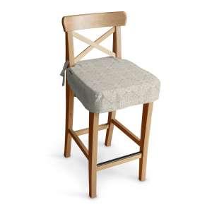 Siedzisko na krzesło barowe Ingolf krzesło barowe Ingolf w kolekcji Flowers, tkanina: 140-39