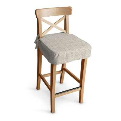 Poťah na barovú stoličku Ingolf V kolekcii Flowers, tkanina: 140-39